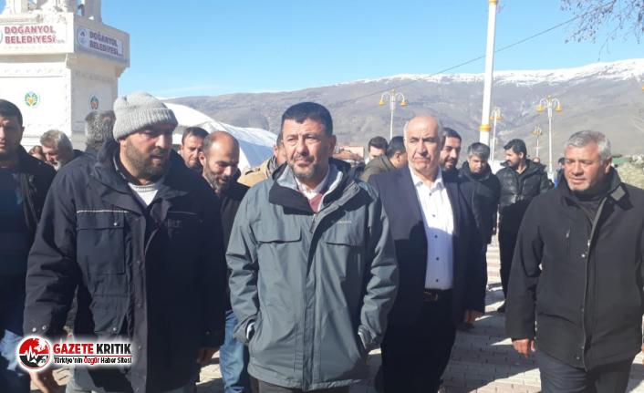 CHP heyeti Doğanyol ve Pütürgeyi ziyaret etti