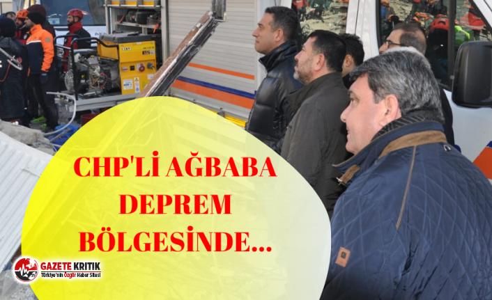 CHP'li Ağbaba: ''Ciddi boyutta hasar var''