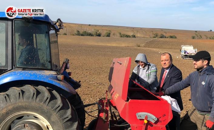 CHP'li Aygun:Çiftçi üretemiyor, tarım sanayisi...