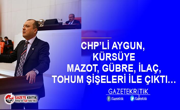 CHP'Lİ AYGUN'DAN TARIM KREDİ KOOPERATİFLERİNE...
