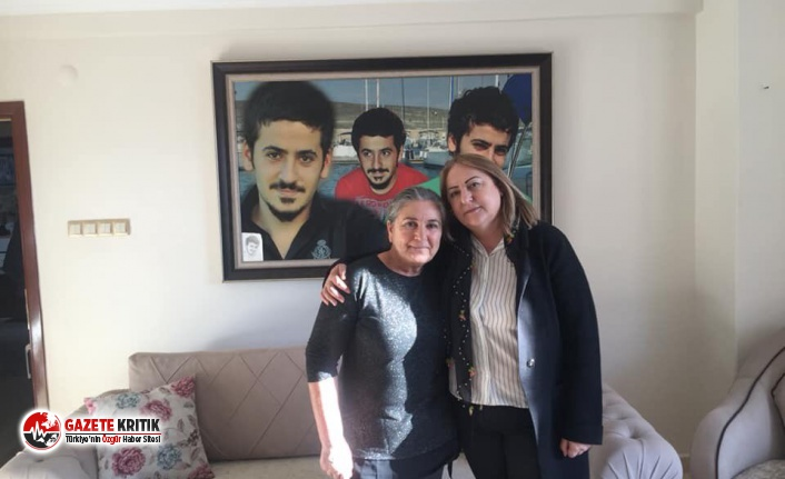 CHP'li Ayten Gülsever, Ali İsmail Korkmaz'ın ailesi ile görüştü