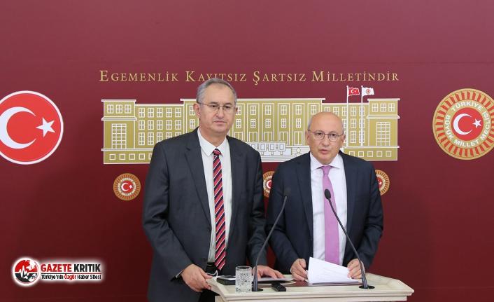 CHP'li Sertel ve Çakırözer, basın kartları...