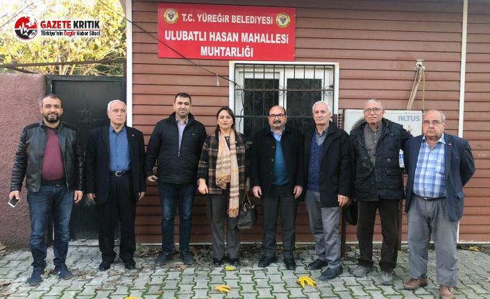 CHP'li Şevkin'den 8 Muhtara Ziyaret