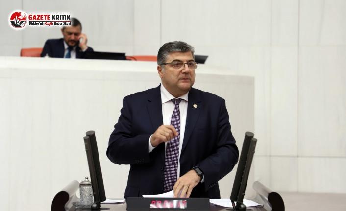 CHP'li Sındır, Süs Bitkilerini Meclis Gündemine...