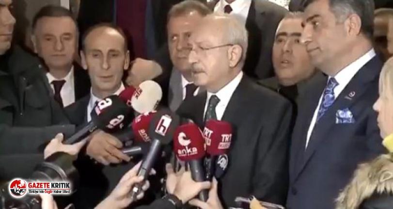 Elazığ'a giden Kılıçdaroğlu canlı yayında depreme  yakalandı!