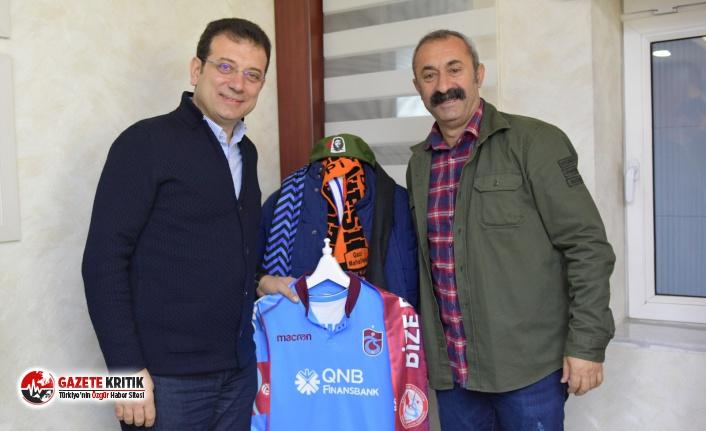 Ekrem İmamoğlu Tunceli Belediyesi'ni ziyaret...