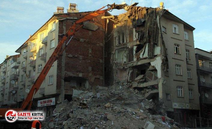 Elazığ'da 948 artçı deprem oldu , can kaybı 39'a yükseldi