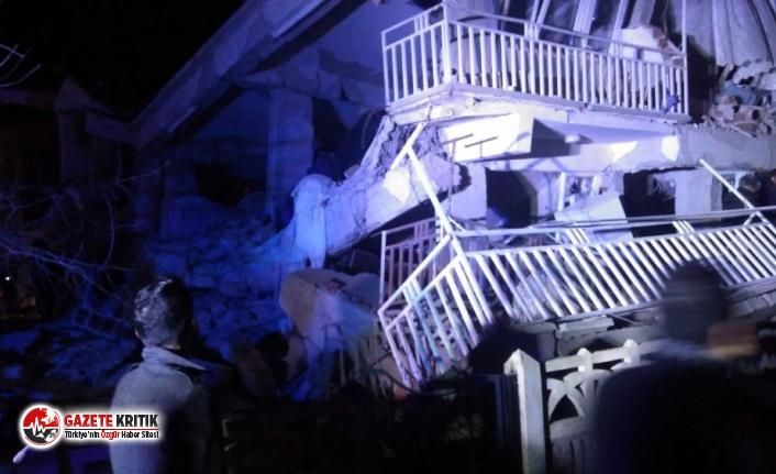 Elazığ'da 6.8 büyüklüğünde deprem: 6 kişi...