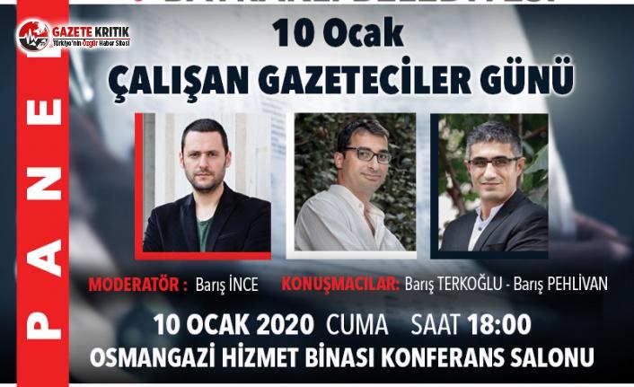 Gazeteciler Bayraklı'da basın özgürlüğünü anlatacak