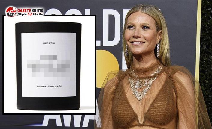 Gwyneth Paltrow cinsel organının kokusunu satıyor
