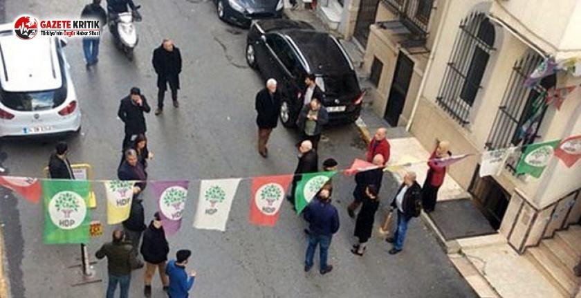 HDP İstanbul il binası önünde silah sesleri