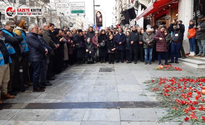 Hrant Dink, öldürülüşünün 13. yılında anıldı