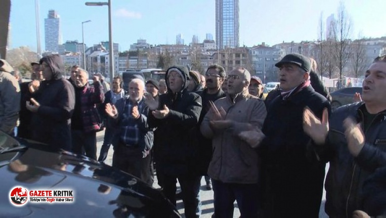 Ekrem İmamoğlu'na Şişli'de  protesto!