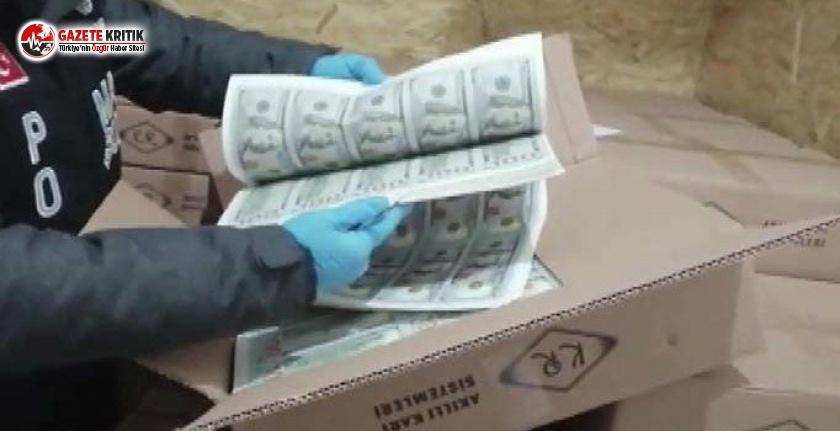 İstanbul'da 127 milyon 500 bin sahte dolar yakalandı