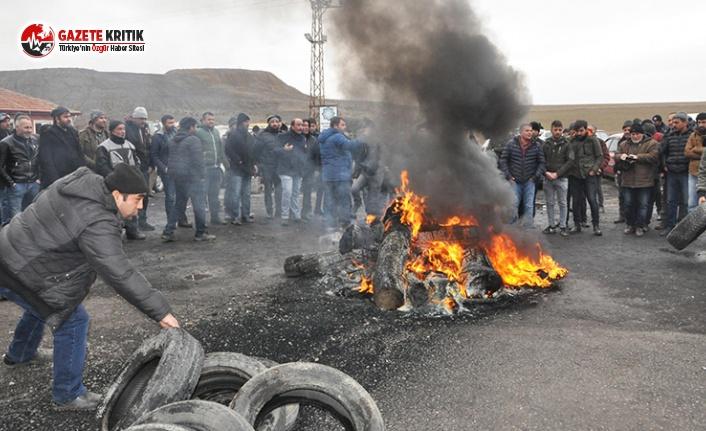 İşten Çıkarılan 135 Madenci Direnişte
