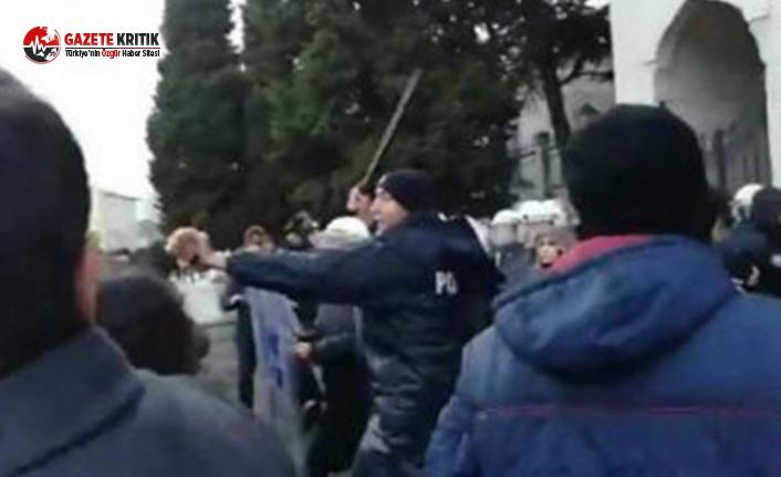 İÜ'de öğrencilere saldıran polis hakkında karar!