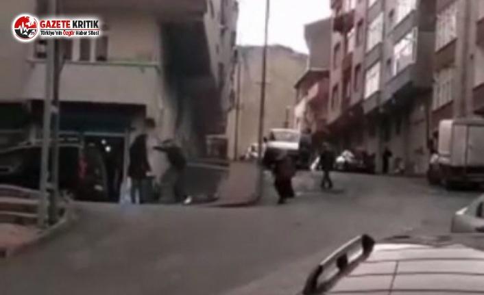 Kadını sopayla döven cani tutuklandı