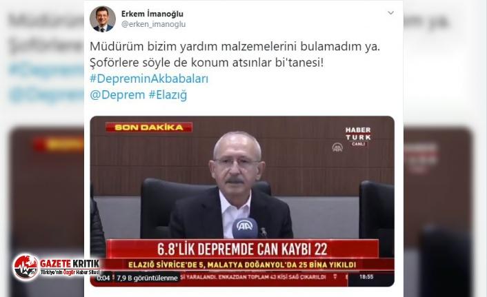 Kılıçdaroğlu'ndan İmamoğlu imasına tepki!