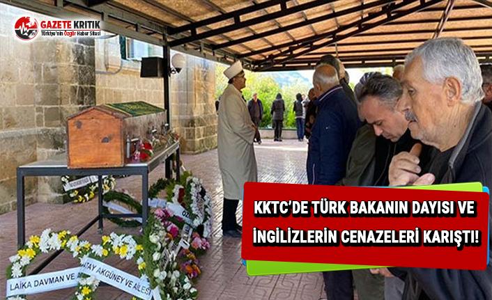 KKTC'de Türk Bakanın Dayısı ve İngilizlerin cenazeleri karıştı!