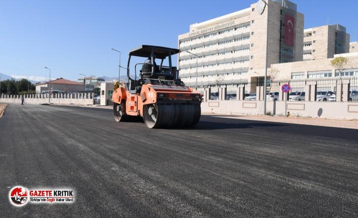 Konyaaltı Belediyesi'nden konforlu yol hizmeti