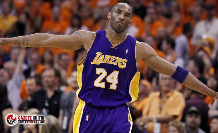 Lakers ile özdeşleşen NBA eski yıldız oyuncusuKobe Bryant öldü