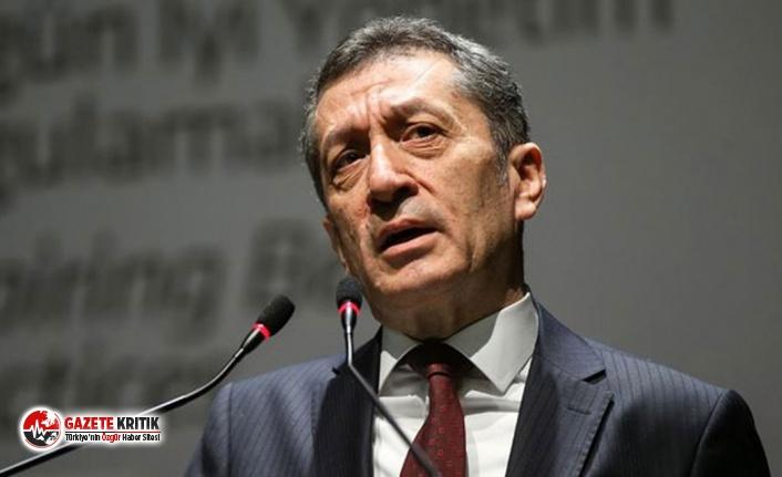 Milli Eğitim Bakanı Ziya Selçuk'tan sınavsız eğitim mesajı