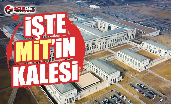 MİT'in yeni binası 'KALE' hizmete...