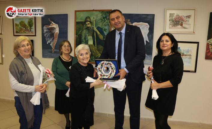 'Rüzgârın Getirdiği' Karma Resim Sergisinin Açılışı, Kartal'da Gerçekleşti