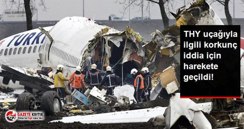THY uçağı ile ilgili korkunç iddia!