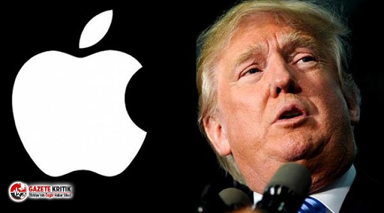 Trump'dan Apple'a:Şifreli telefonlara erişim...