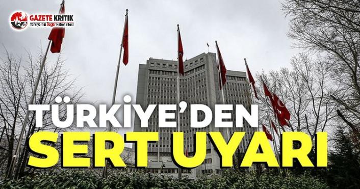 Türkiye'den sert Hafter tepkisi