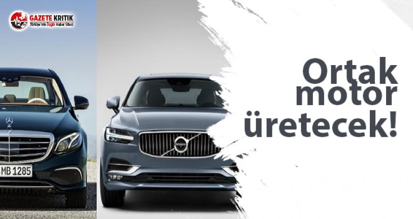 Volvo ve Mercedes'den ortak proje