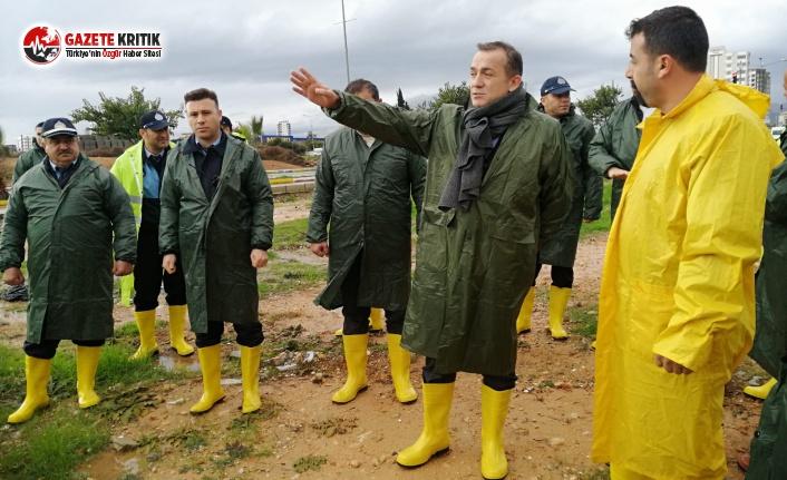 Yenişehir Belediyesi Ekipleri Teyakkuz Halinde!