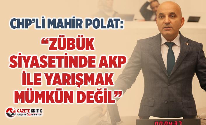 """""""ZÜBÜK SİYASETİNDE AKP İLE YARIŞMAK MÜMKÜN..."""