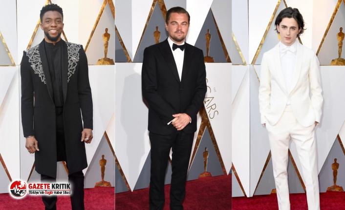 2020 Oscar ödüllerinin şık erkekleri