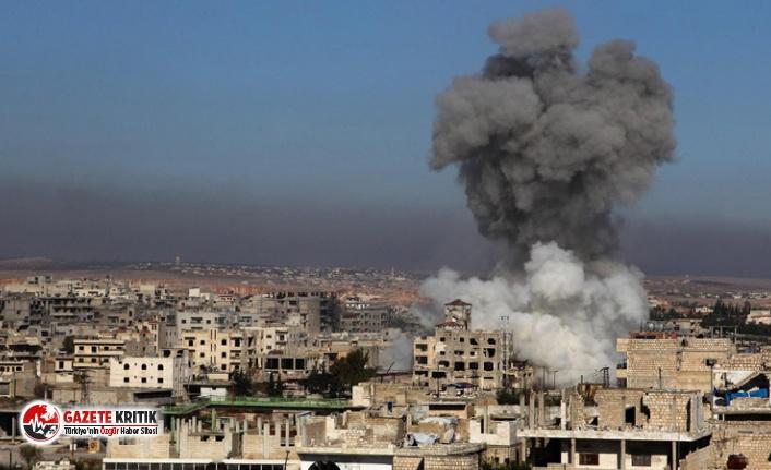 AA: Rus uçakları İdlib'de sivil yerleşim yerlerine hava saldırısı düzenliyor