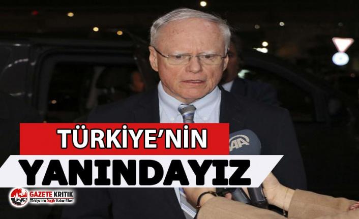 ABD heyeti: NATO müttefiki Türkiye'nin yanındayız