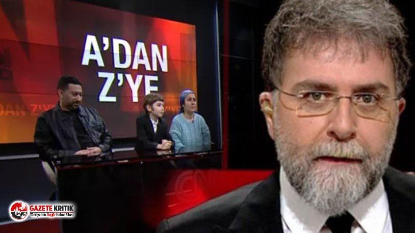 Ahmet Hakan CNN Türk'ü eleştirdi: 'Minnacık bir çocuğu medya maymununa çevirdiniz yahu!'