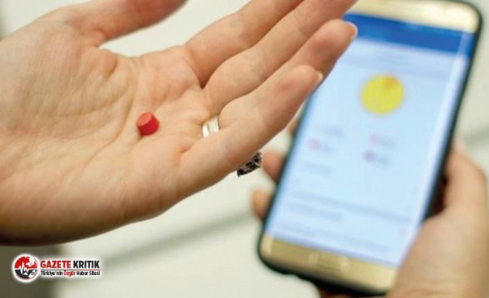 Akıllı ilaçlar, akıllı telefonunuza gönderiliyor