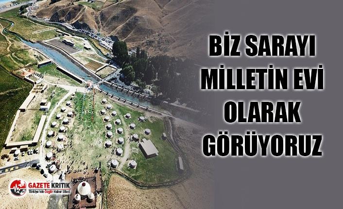 AKP GERUP BAŞKAN VEKİLİ: ''BİZ SARAY'I...