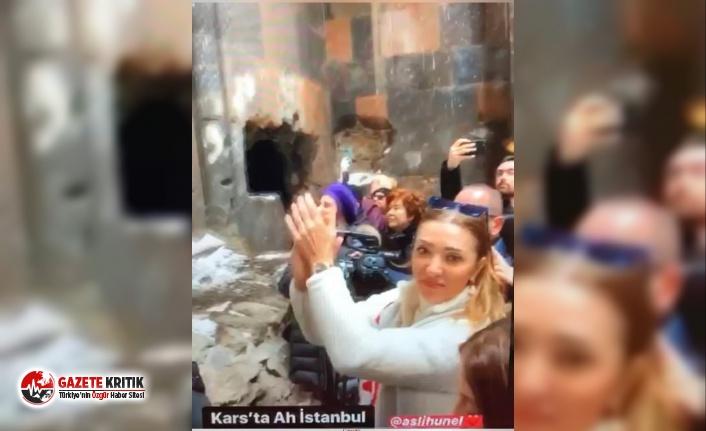 AKP'li bakanın eşinden komik savunma: 'Kilisenin...