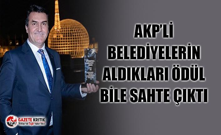 AKP'Lİ BELEDİYELER ÖDÜL ALDI, UNESCO ÖDÜLLER İÇİN ''BİZ VERMEDİK'' DEDİ
