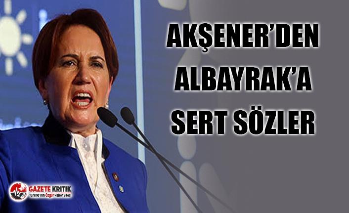 AKŞENER'DEN ALBAYRAK'A SERT SÖZLER