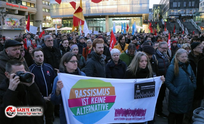 Almanya'da bir ırkçı saldırı daha!
