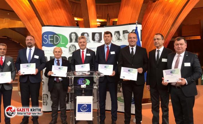 Avrupa Konseyi tarafından Çiğli'ye Yılın Partner Şehri Ödülü