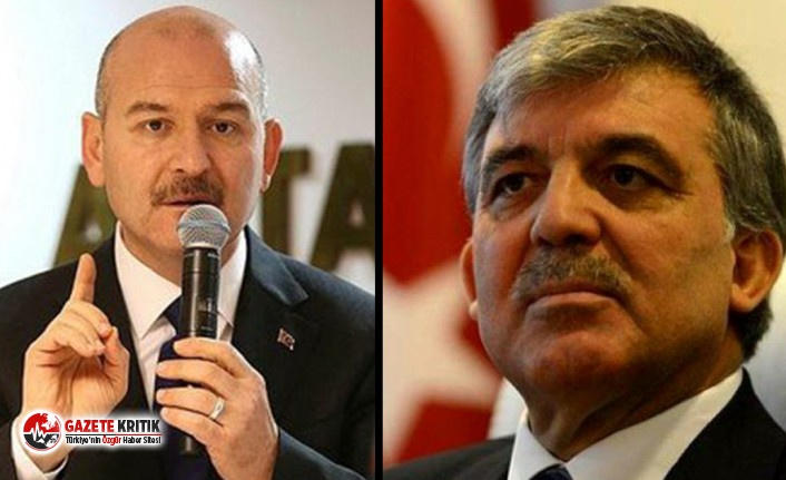 Bakan Soylu'dan Abdullah Gül'e 'Gezi' tepkisi: Sözleri içime hançer gibi saplandı