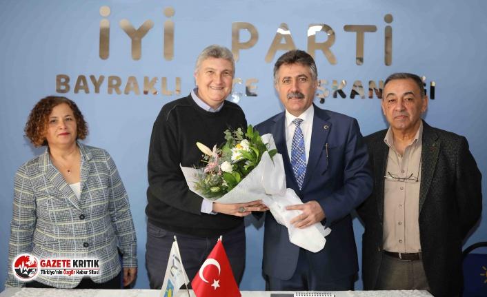 Başkan Sandal, siyasi partileri ziyaret etti