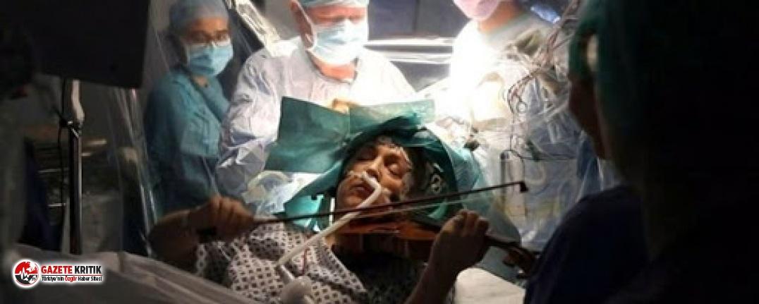 Beyin ameliyatı olurken keman çalan müzisyen: Ne çaldığımı hatırlamıyorum