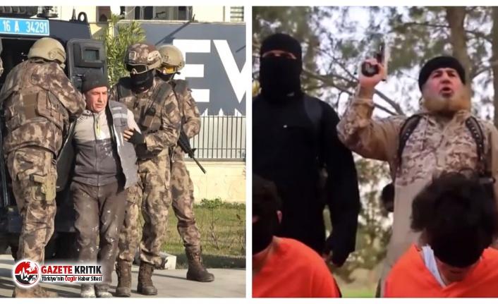 Bursa'da bir doğalgaz servisinde çalışan IŞİD...