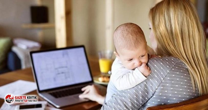 Çalışan anneye az 9 bin 299 lira